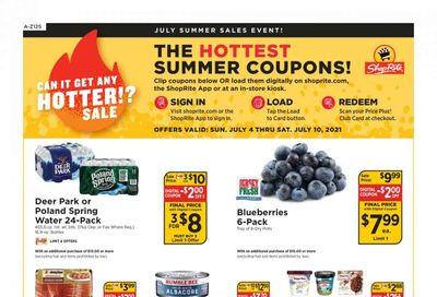 ShopRite (CT, DE, MD, NJ, NY, PA) Weekly Ad Flyer July 4 to July 10