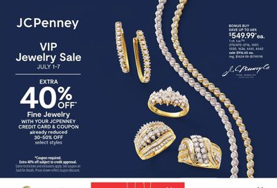 JCPenney Weekly Ad Flyer July 1 to July 7