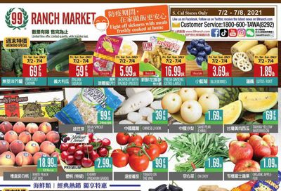 99 Ranch Market (CA) Weekly Ad Flyer July 2 to July 8