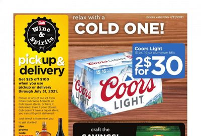 Cub Foods (MN) Weekly Ad Flyer July 4 to July 31