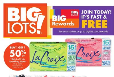 Big Lots Weekly Ad Flyer July 5 to July 10