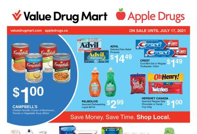 Apple Drugs Flyer July 4 to 17