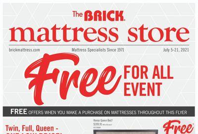 The Brick Mattress Store Flyer July 5 to 21