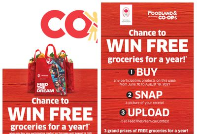 Foodland Co-op Flyer July 8 to 14