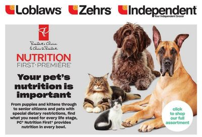 Loblaws (ON) PetBook July 8 to August 4