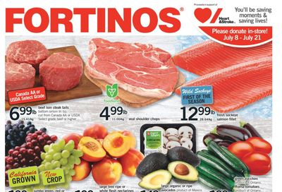 Fortinos Flyer July 8 to 14