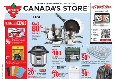 Canadian Tire (ON) Flyer July 9 to 15