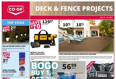 Co-op (West) Home Centre Flyer July 8 to 14
