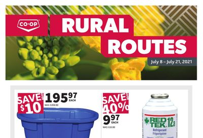 Co-op (West) Rural Routes Flyer July 8 to 21