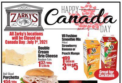 Zarky's Flyer July 7 to 13