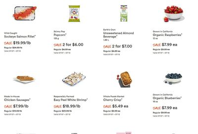 Whole Foods Market (West) Flyer July 7 to 13