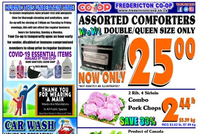 Fredericton Co-op Flyer July 8 to 14