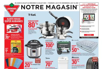 Canadian Tire (QC) Flyer July 8 to 14