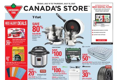Canadian Tire (Atlantic) Flyer July 9 to 15