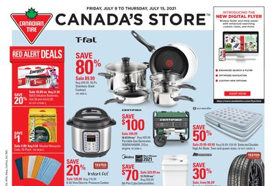 Canadian Tire (West) Flyer July 9 to 15