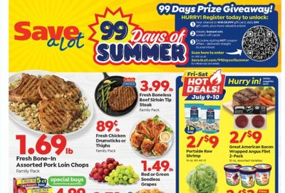Save a Lot Weekly Ad Flyer July 7 to July 13