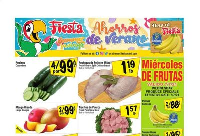 Fiesta Mart (TX) Weekly Ad Flyer July 7 to July 13