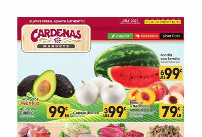 Cardenas (CA) Weekly Ad Flyer July 7 to July 13