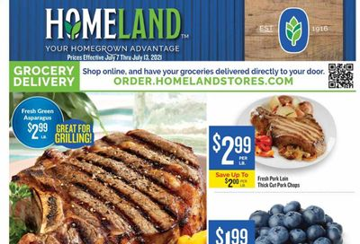 Homeland (OK, TX) Weekly Ad Flyer July 7 to July 13