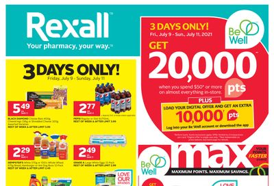 Rexall (West) Flyer July 9 to 15