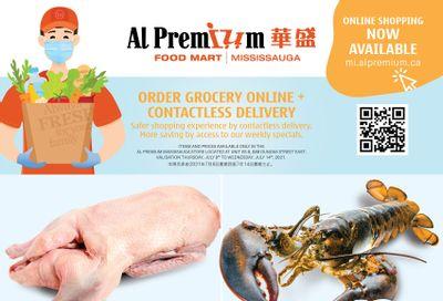 Al Premium Food Mart (Mississauga) Flyer July 8 to 14