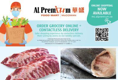 Al Premium Food Mart (McCowan) Flyer July 8 to 14
