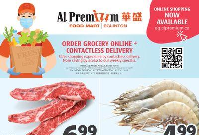 Al Premium Food Mart (Eglinton Ave.) Flyer July 8 to 14