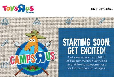 Toys R Us Flyer July 8 to 14