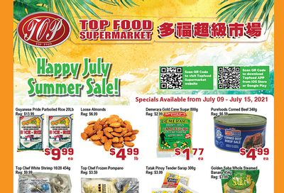 Top Food Supermarket Flyer July 9 to 15