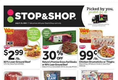 Stop & Shop (NY) Weekly Ad Flyer July 9 to July 15
