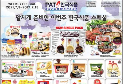PAT Mart Flyer July 9 to 15