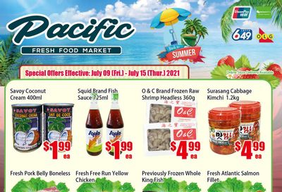 Pacific Fresh Food Market (North York) Flyer July 9 to 15