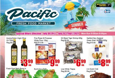 Pacific Fresh Food Market (Pickering) Flyer July 9 to 15