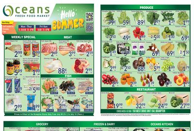 Oceans Fresh Food Market (Brampton) Flyer July 9 to 15