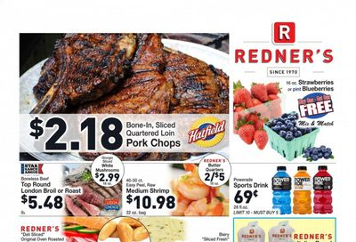 Redner's Markets (DE, MD, PA) Weekly Ad Flyer July 8 to July 14