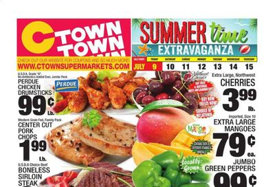 C-Town (CT, FL, MA, NJ, NY, PA) Weekly Ad Flyer July 9 to July 15