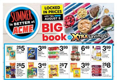 ACME (DE, NJ, NY, PA) Weekly Ad Flyer July 9 to August 5