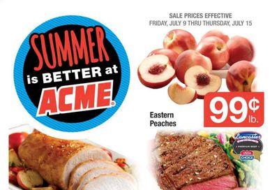 ACME (DE, NJ, NY, PA) Weekly Ad Flyer July 9 to July 15