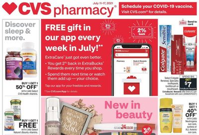 CVS Pharmacy Weekly Ad Flyer July 11 to July 17