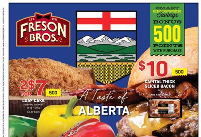 Freson Bros. Flyer July 9 to 15