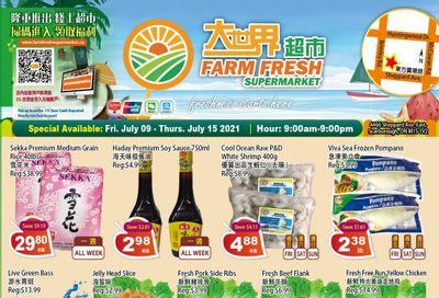 Farm Fresh Supermarket Flyer July 9 to 15