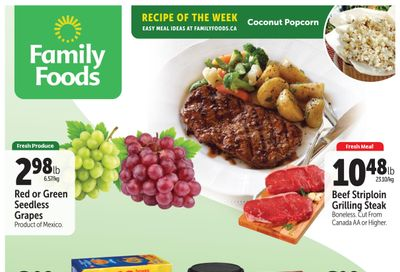 Family Foods Flyer July 9 to 15