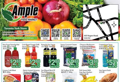 Ample Food Market (North York) Flyer July 9 to 15
