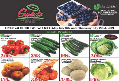 Galati Market Fresh Flyer July 9 to 22
