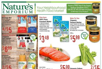 Nature's Emporium Flyer July 9 to 22