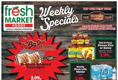 Fresh Market Foods Flyer July 9 to 15