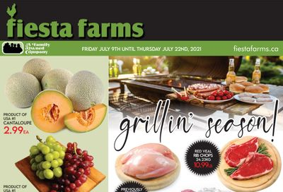 Fiesta Farms Flyer July 9 to 22