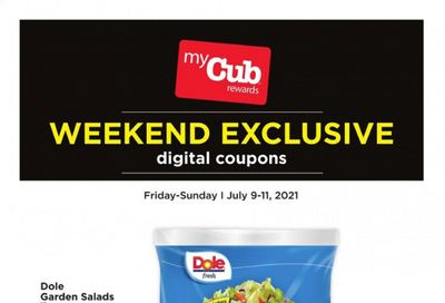 Cub Foods (MN) Weekly Ad Flyer July 9 to July 11