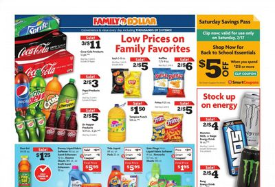 Family Dollar Weekly Ad Flyer July 11 to July 17