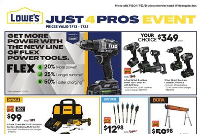 Lowe's Weekly Ad Flyer July 12 to July 23